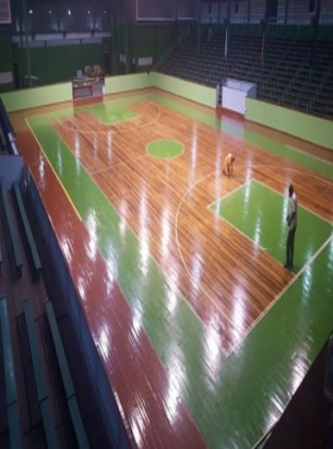 The Cliff Anderson Sports Hall where the tournament will be held