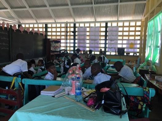 Students of Auchlyne Primary School.