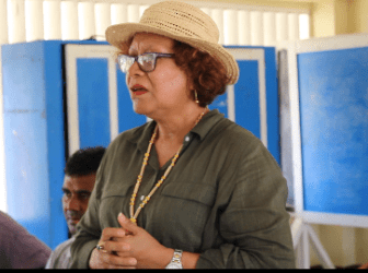 Minister within the Ministry of Indigenous Peoples' Affairs, Valerie Garrido-Lowe.
