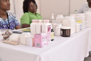 Medication available at the 'We're at your door' free pharmacy