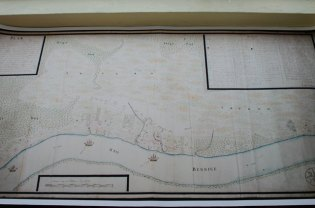Map of Fort Nassau that was repaired by the Netherlands National Archives.