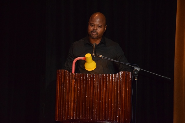 Executive Director of Youth Challenge Guyana (YCG), Dmitri Nicholson.
