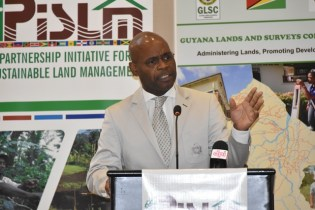 Dr. Richard Byron - Cox of the United Nations Convention to Combat Desertification (UNCCD) .