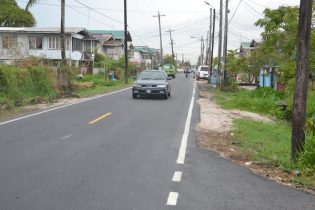 The recently upgraded Duncan Street
