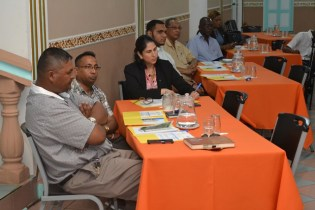 Participants of the carambola fruit fly workshop.