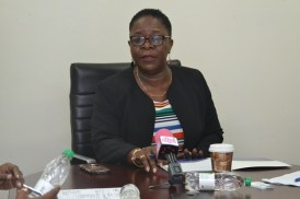 Director General, Maritime Administration, Claudette Rogers.