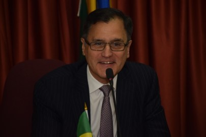 Deputy Head of Mission at the Embassy of Brazil, Minister Paulo Borda Silos.