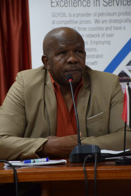 Director General of the Guyana Tourism Authority (GTA), Donald Sinclair.