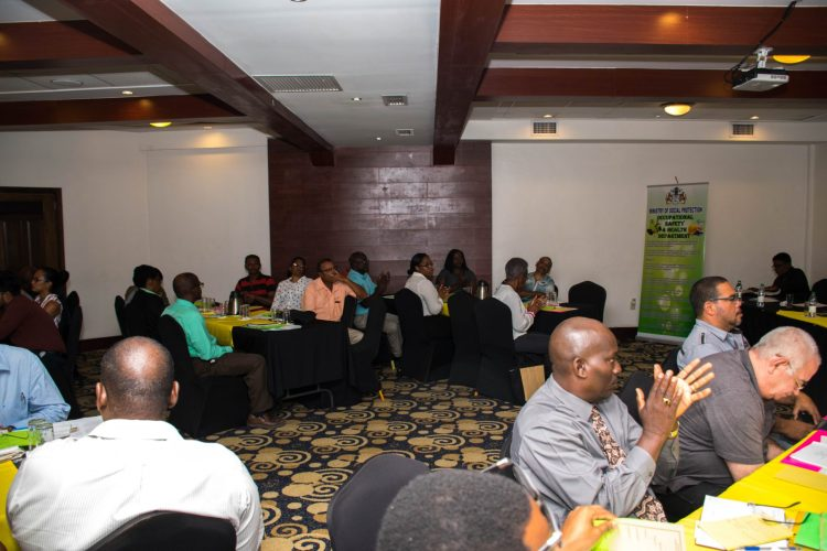 Stakeholders at the draft noise consultation sessions