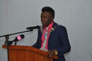 President of JCI Guyana, Kevin Cornette