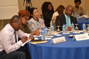 Some of the stakeholders from the workshop.