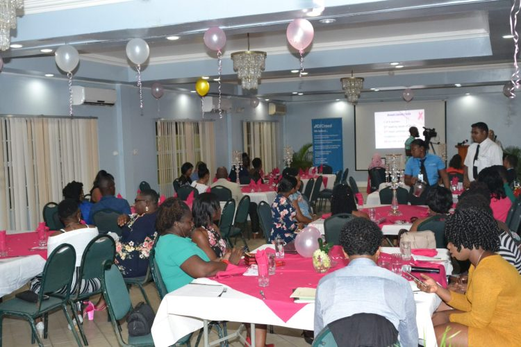 Members and guests at the cancer awareness dinner hosted by JCI Guyana