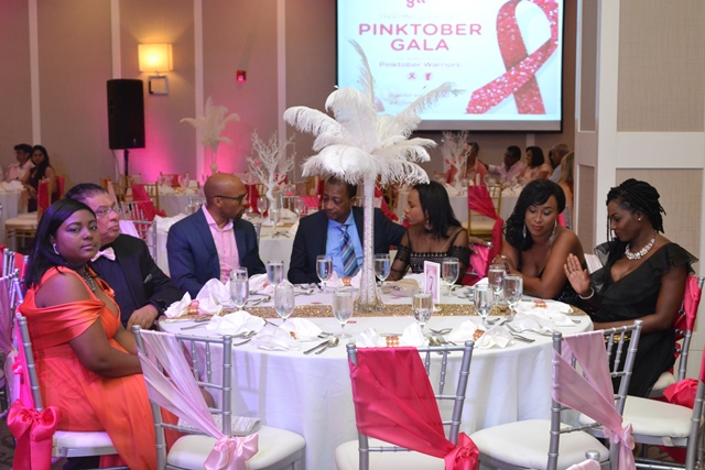 GTT concluded its month of activities to mark breast cancer awareness with a gala and dinner on Sunday evening.
