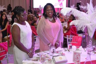 Some of the cancer warriors that were honoured during the Pinktober dinner and gala.