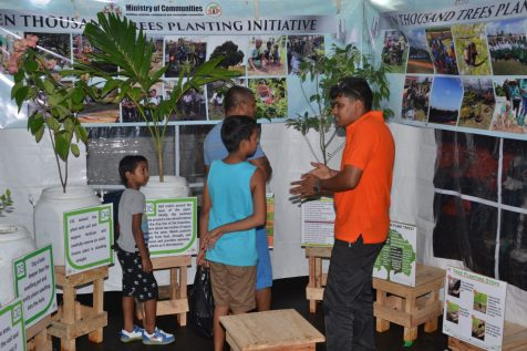 This Ministry representative explains the importance of planting trees