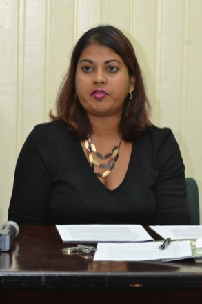 Head of Planning and Development of the Guyana Forestry Commission (GFC), Pradeepa Bholanath.