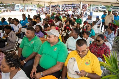 – A section of the audience at the World Food Day Exhibition.
