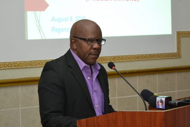 Director General of the Department of Tourism, Donald Sinclair.