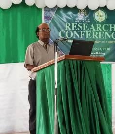 Dr. Oudho Homenauth