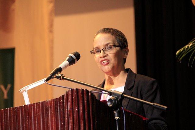 Deputy Chief Education Officer (Admin) ag, Ms. Ingrid Trotman.