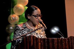 Minister of Education, Dr. Hon. Nicolette Henry.