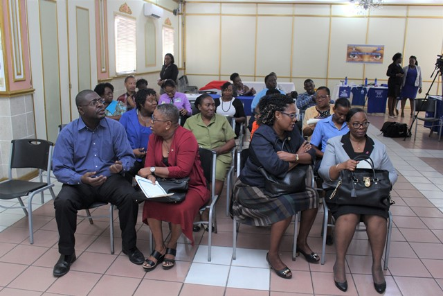 Stakeholders at the launch of the Blu' Resources campaign.