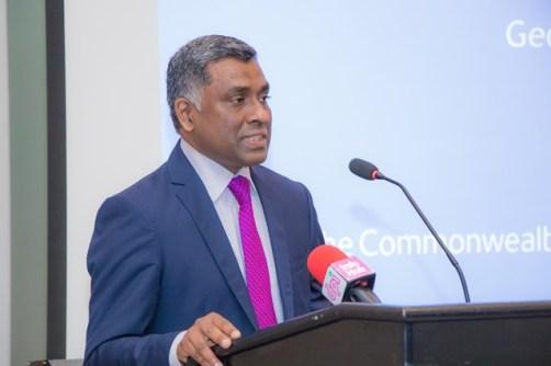 Head of the International Trade Police of the Commonwealth Secretariat Teddy Soobramanien.