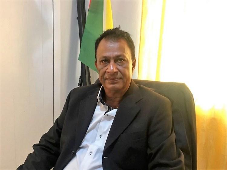 Mayor of Corriverton Krishnand Jaichand