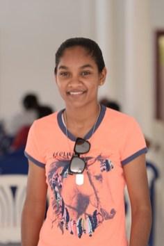 Emily Gangajelly, a participant.