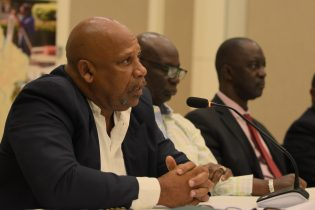 Saint Lucian Minister of Agriculture, Fishers, Planning and Natural Resources, Ezechiel Joseph