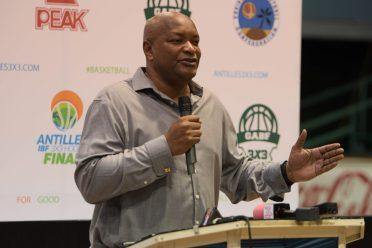 President, Guyana Amateur Basketball Federation (GABA) Nigel Hinds
