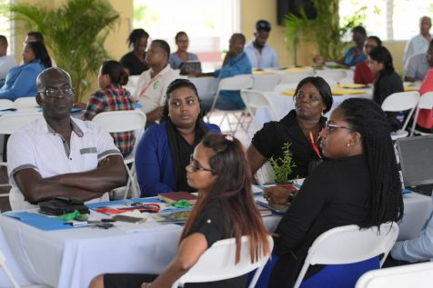 A section of those who participated in NAREI's Research Conference at the Guyana School of Agriculture, Mon Repos, East Coast Demerara