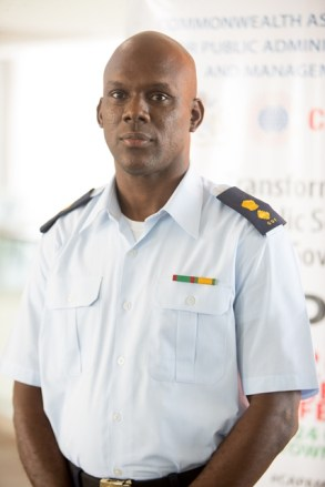 Acting Director General, Civil Defence Commission, Lieutenant-Colonel Kester Craig.