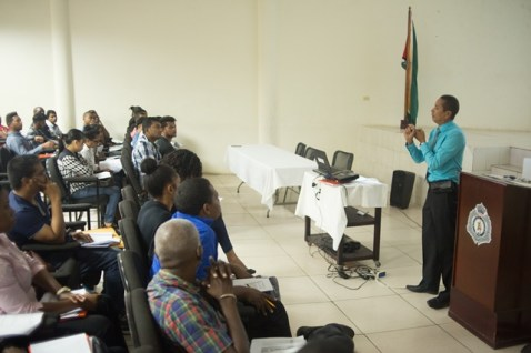 Sections of the participants undergoing Customhouse Broker Training Workshop.