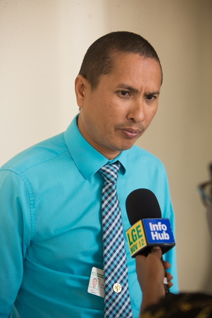 Senior Manager of the Communication and Tax Advisory Division of the Guyana Revenue Authority (GRA), Gavin Lowe.
