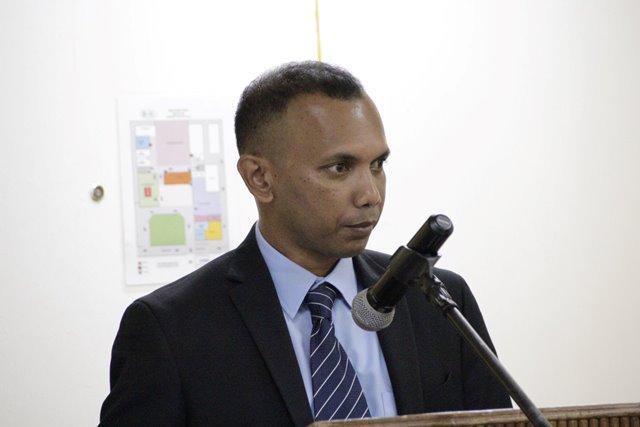 Deputy Head of CANU, Mr. Lesley Ramlall.