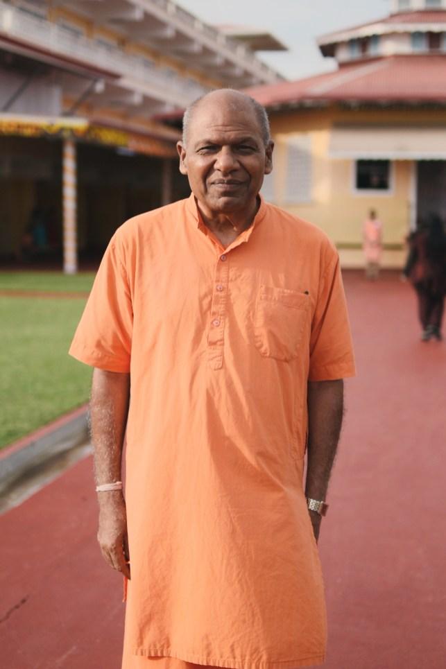 Principal of Swarsawti Vidya Niketan, Swami Aksharannanda Ji
