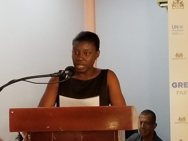 Country Manager for WWF Guianas, Aiesha Williams