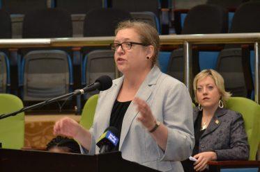 Public Affairs Officer of the US Embassy Guyana, Amanda Cauldwell