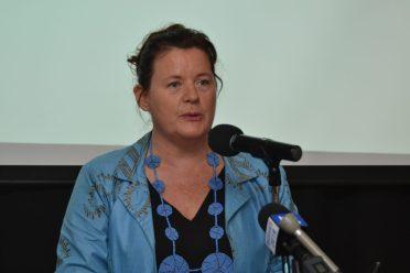 UNICEF's Country Representative to Guyana and Suriname, Sylvie Fouet