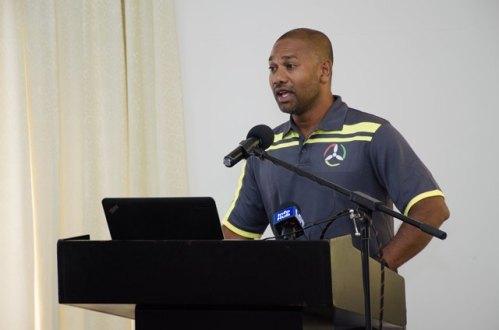 President of the Drone Association in Guyana Lancelot Khan.