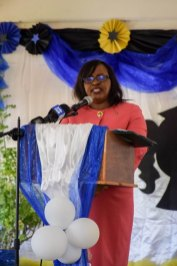 Minister within Ministry of Public Health, Dr. Karen Cummings.