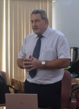 Director of Belize Sugar Industries LTD, Mr. Mac McLachlan.