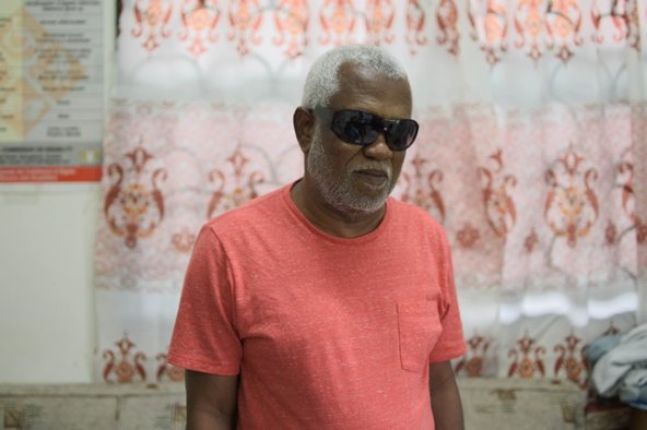 Chairman (ag) of Council of Organisations for Persons with Disabilities in Guyana, Cecil Morris.