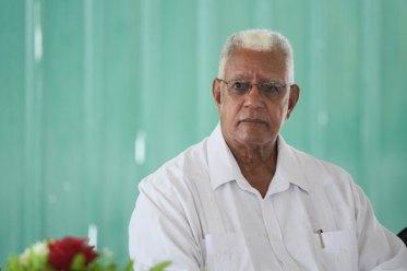 Minister of Agriculture, Noel Holder.