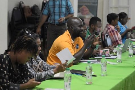 Participants during the seminar.