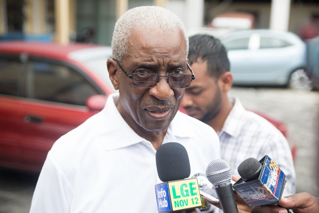 Chairman of Guyana Elections Commission (GECOM), (ret'd) Justice James Patterson.