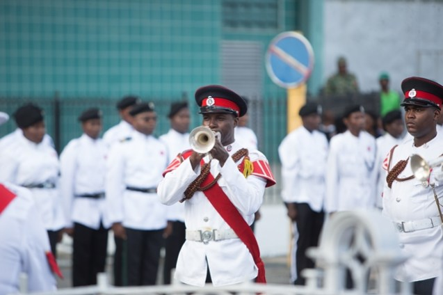 The sounding of the last post.