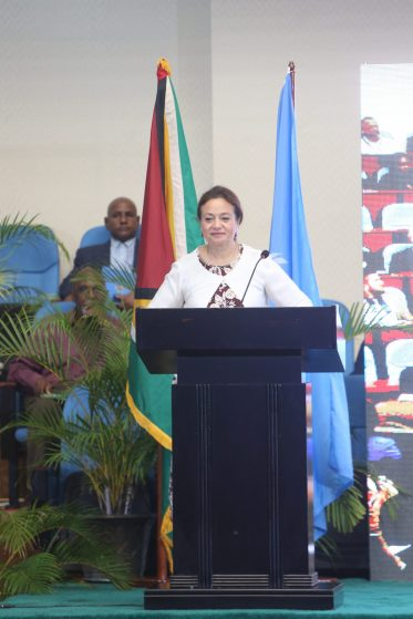 Commissioner for Infrastructure and Energy of the African Union Commission, Dr. Amani Abou-Zied