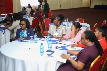 Some of the participants of the Restorative Practices workshop held at the Princess Ramada Hotel, Providence.